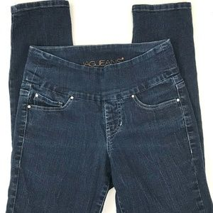 JAG Jeans High Rise Slim Ankle Pull On 27